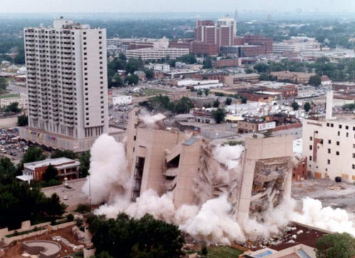 the bombing of alfred murrah federal building in oklahoma city Case study alfred p murrah federal building oklahoma city h s lew  national institute of standards and technology.
